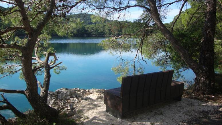 Urban furniture National Park Mljet, Croatia