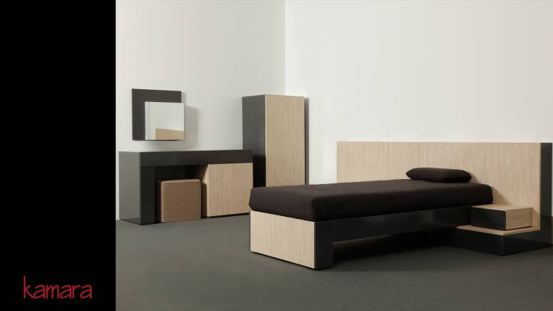 KAMARA – program of modular furniture for hotels and apartments